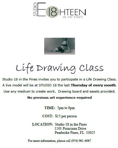 Life Drawing (Live Model)